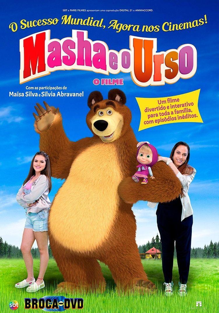 Masha E O Urso O Filme 2017 Capa Filme Dvd Com Imagens
