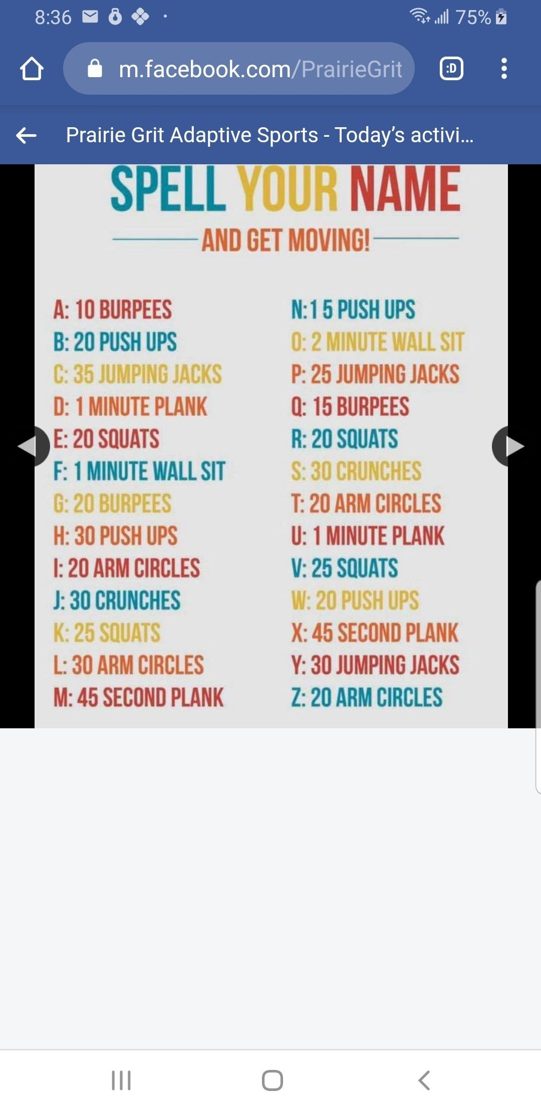 Pin By Sharhonda Simpson On Exercise Sports Today Spell Your Name Adaptive Sports