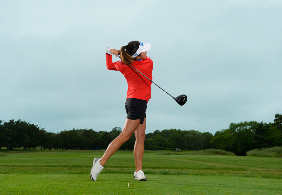 Simplify Your Driver Swing For Effortless Power Golf Driver Swing Golf Driver Tips Golf Drivers