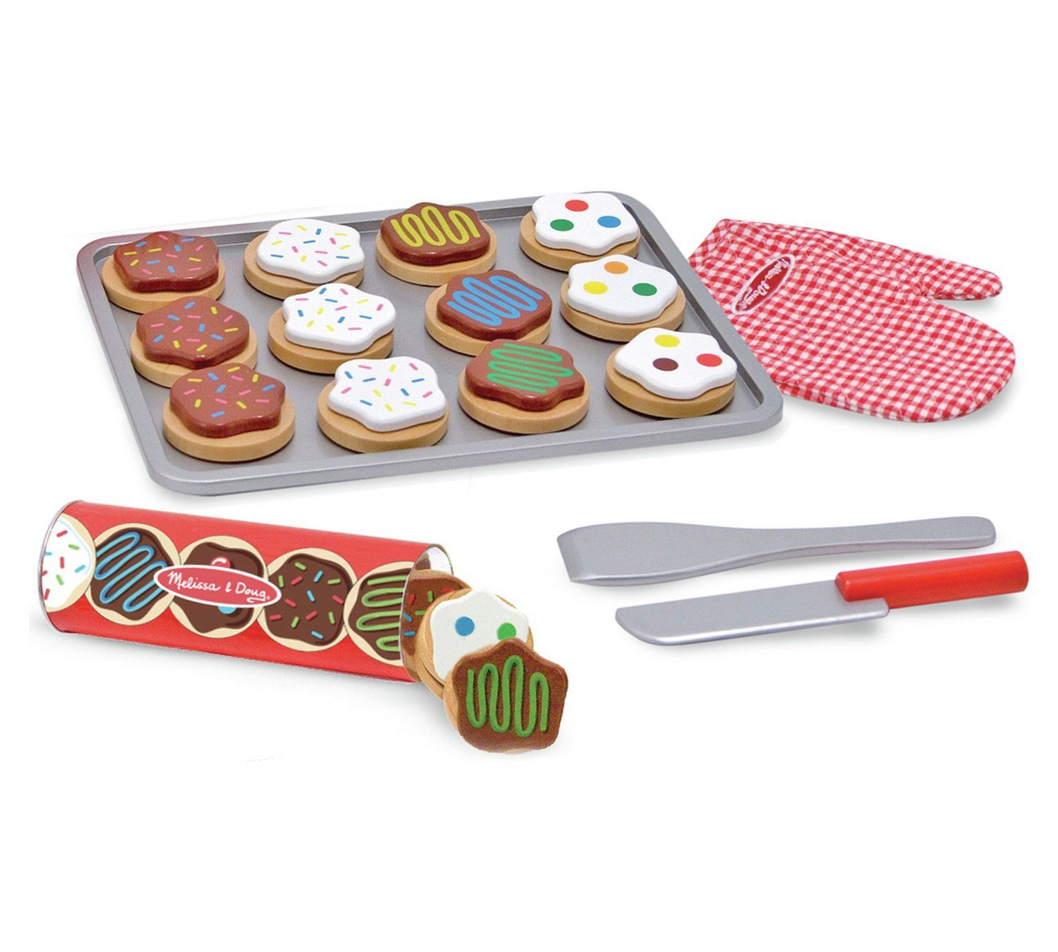 Buy melissa doug wooden cookie set role play toys no