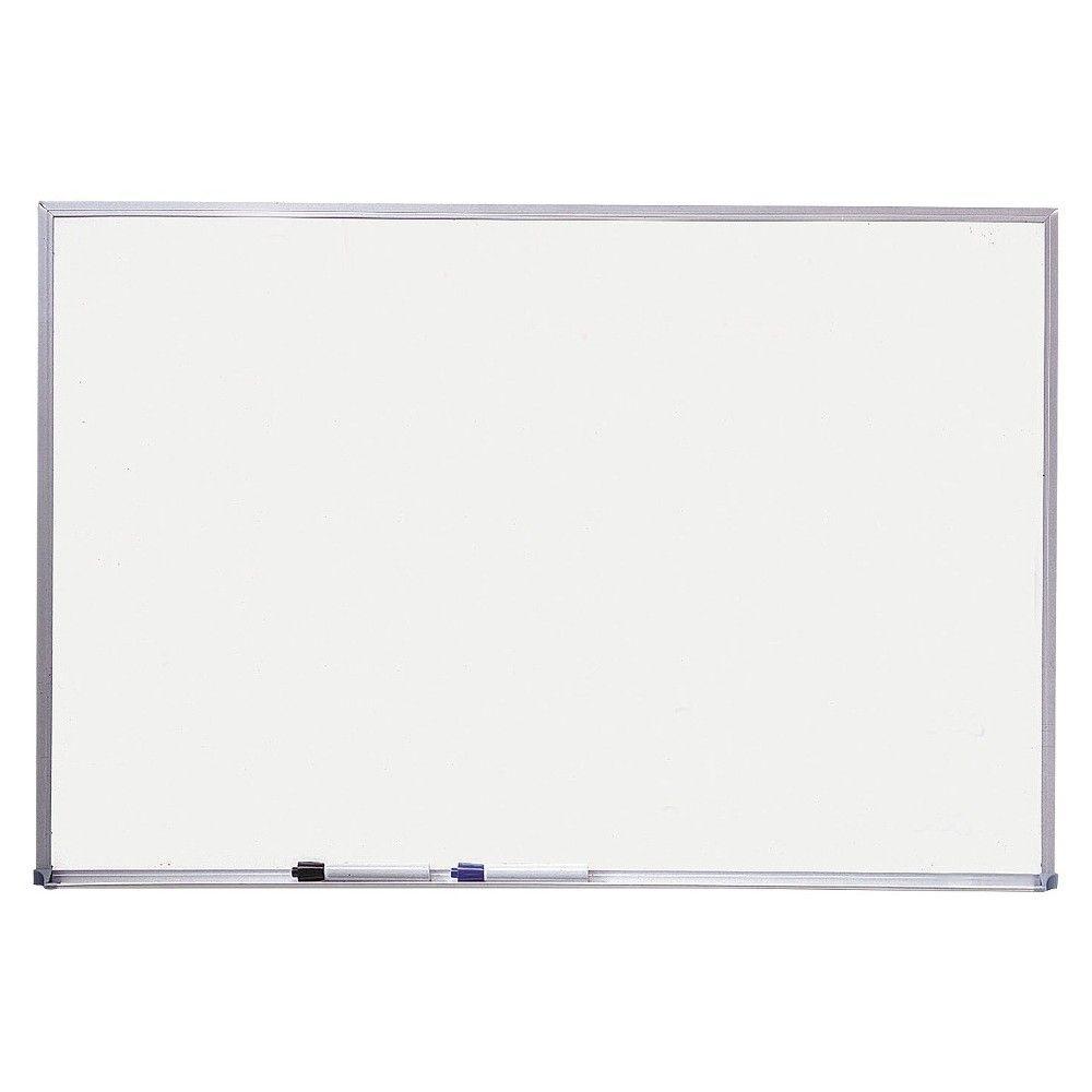 Quartet dry erase board melamine surface 36 x 24 silver