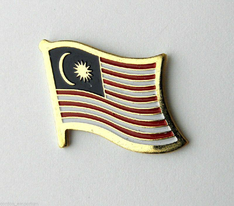 MALAYSIA Country Metal Flag Lapel Pin Badge