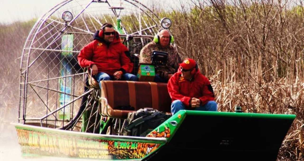 Airboat Rides of Melbourne Airboat rides, Airboat, Riding
