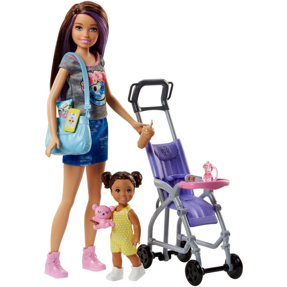 20++ Barbie toddler stroller set information