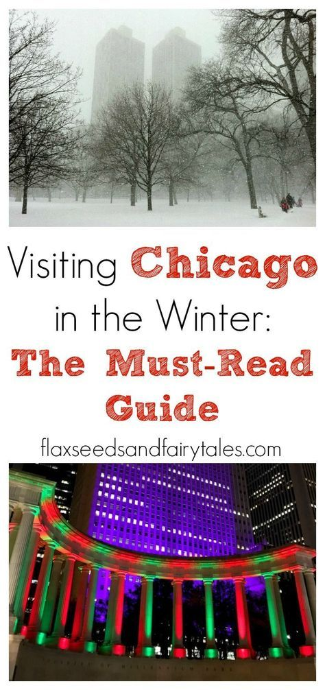 This free travel guide for visiting Chicago in the winter gives you all the BEST tips! Enjoy the beautiful Chicago snow, as well as fun holiday events this Christmas! Learn about the best attractions to visit and how to stay warm on your trip with packing tips! Things to do in Chicago this winter.