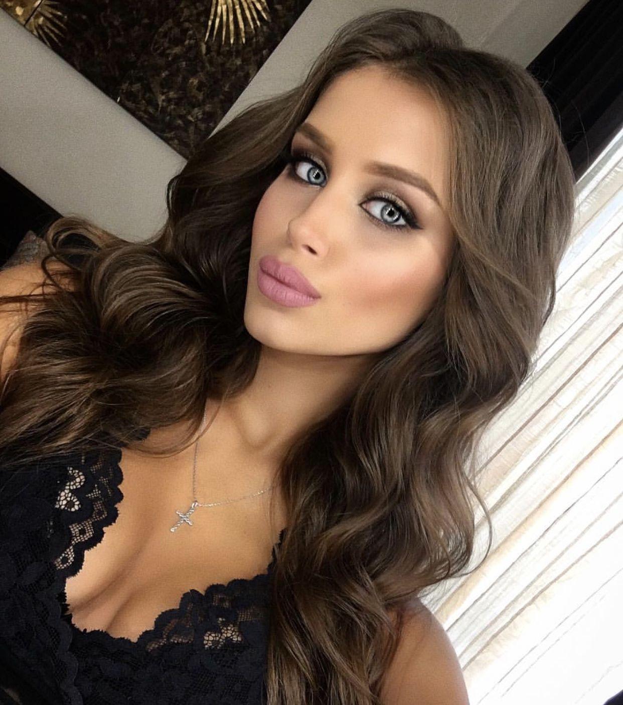 Masha Lobanova russian beauty | hair | Hair, Long hair ...