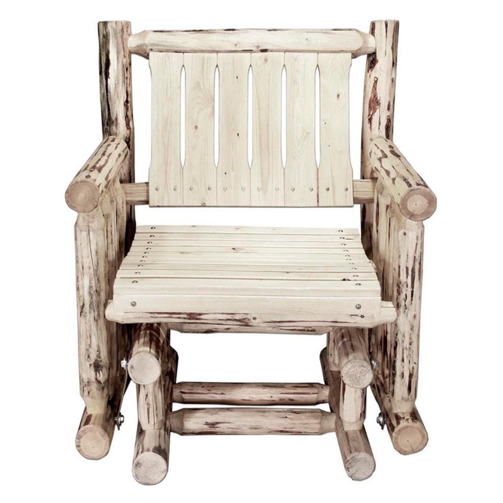 Montana Woodworks Outdoor Glider Chair