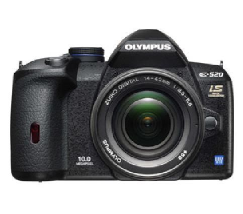 Olympus Digital Camera with a Standard Len