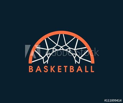 Girls basketball logo design