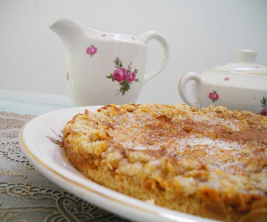 Mundo Manuela: Receta muy dulce - crumble de dulce de leche y cereales