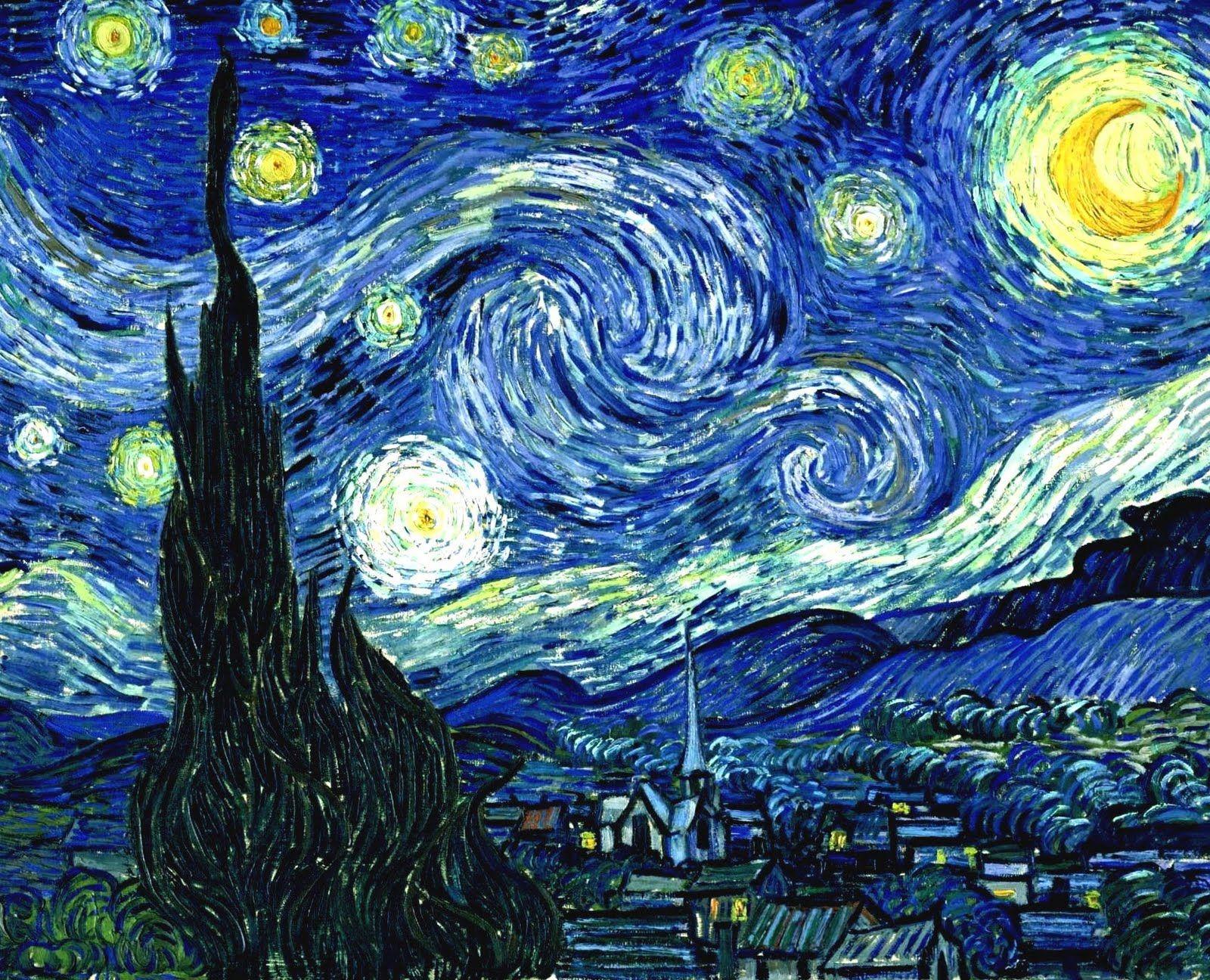 La noche estrellada es una obra maestra del pintor ...