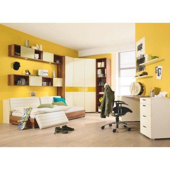 Trendiges Jugendzimmer mit tollen Gestaltungsmöglichkeiten von NOVEL