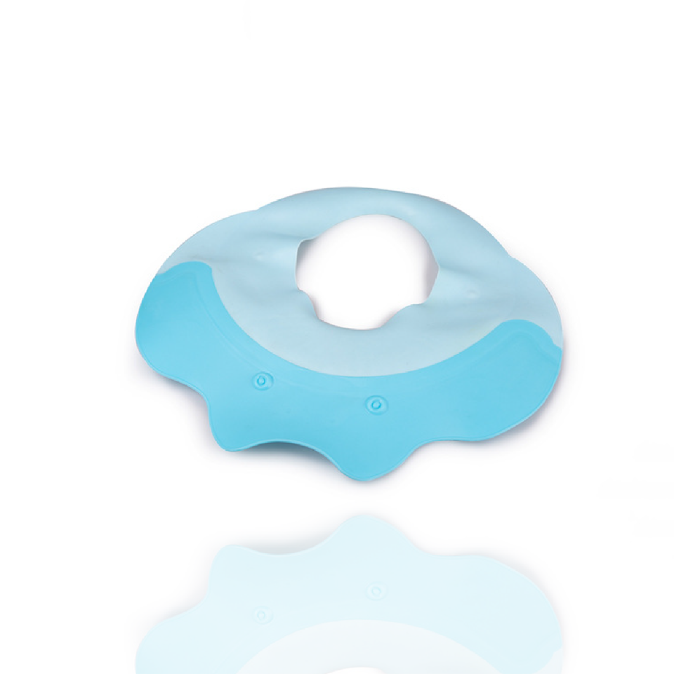 Adjustable Protect Soft Baby Bath Cap Hat With Two Pads To Cover ...