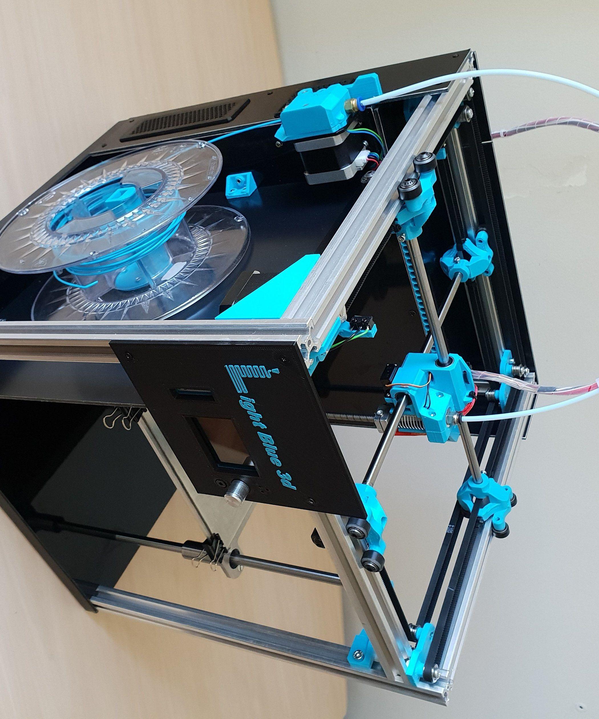 LightBlue 3D | Electronic project ideas | 3d printer