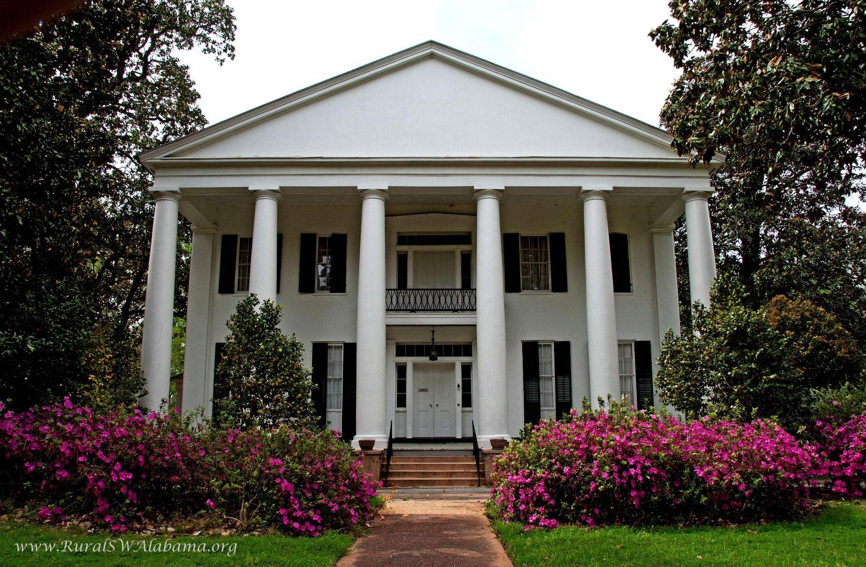 Magnolia Grove at Greensboro, AL (built ca. 1840; recorded