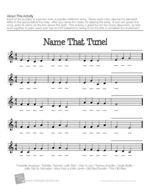 love these note-naming worksheets from Making Music Fun - they also ...