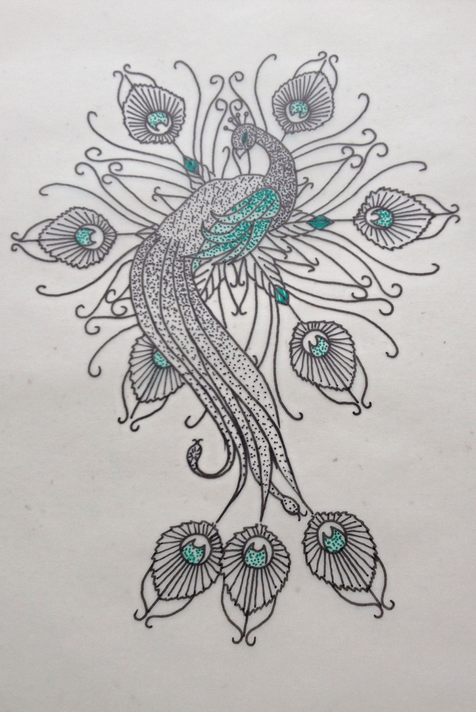 Peacock Mandala Dotwork Pinterest Peacocks And Mandalas