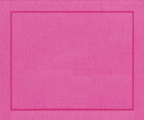 Entertaining With Caspari Paper Linen Placemats Fuchsia Pack Of