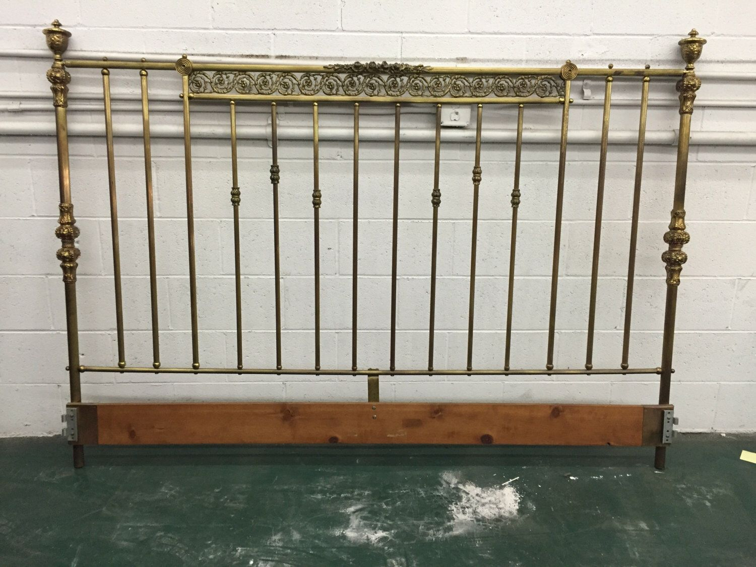 Original Headboards brass headboard - mid-1960's originalrappreruns on etsy https