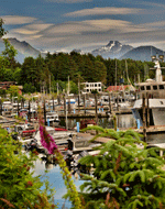 Sitka Alaska Salmon Family Beauty Cruise Whale Vacation Guide Visitors Brochure Travel Information