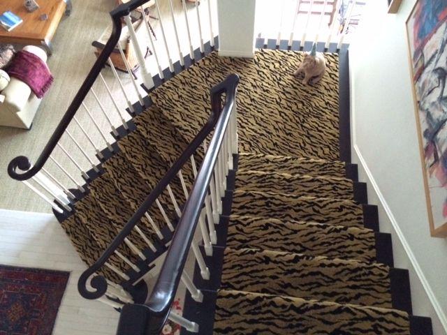 Hemphill S Fine Rugs And Quality Flooring In Orange County Animal Print Carpet Stair Runner Printed Carpet