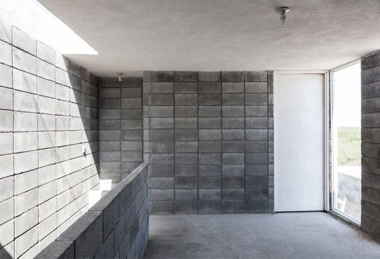 Casa Caja -Vivienda unifamiliar. 110 m² - (General Zuazua, N.L. México) Vivienda desarrollada bajo el Programa de Arquitectura Social Comunidad Vivex