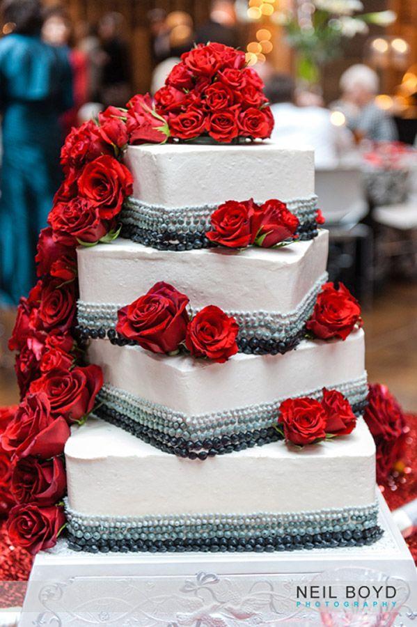 Raleigh Weddings. Red, White, Grey U0026 Black Wedding Cake. Wedding Cake  Ideas. Neil Boyd Photography. Broad Street Bakery. NC State Wedding. Chu2026 |  Pinteresu2026
