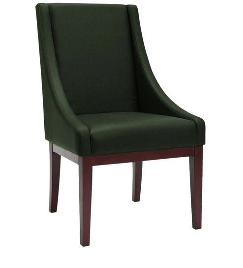 Modern Accent Chair With Montgomery Styled Arms In Green Colour By