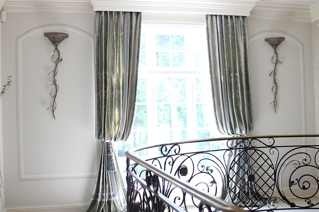 Custom Drapery Luxury And High End D Valances Panels Cornice