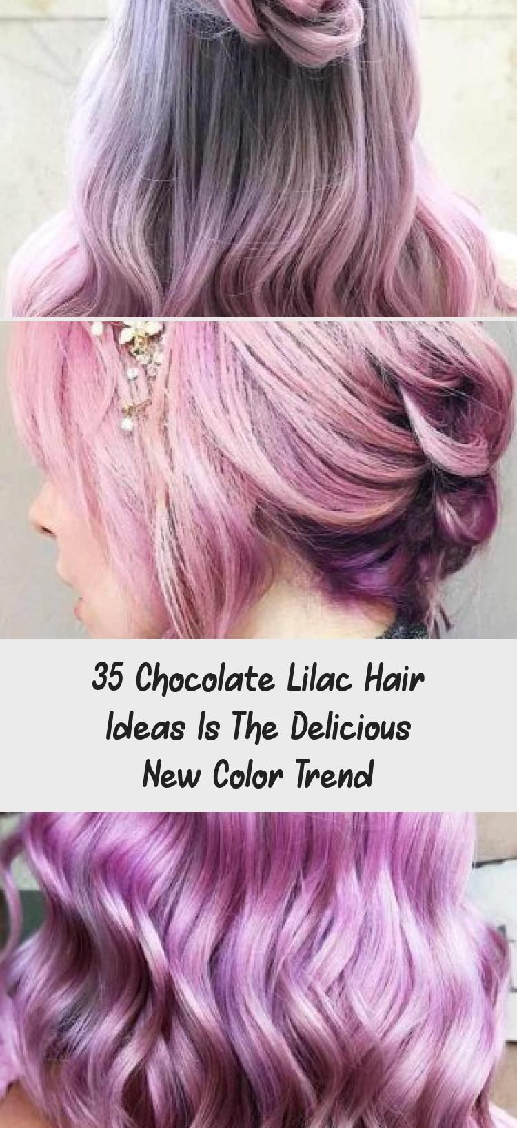 35 Chocolate Lilac Hair Ideas Is The Delicious New Color Trend