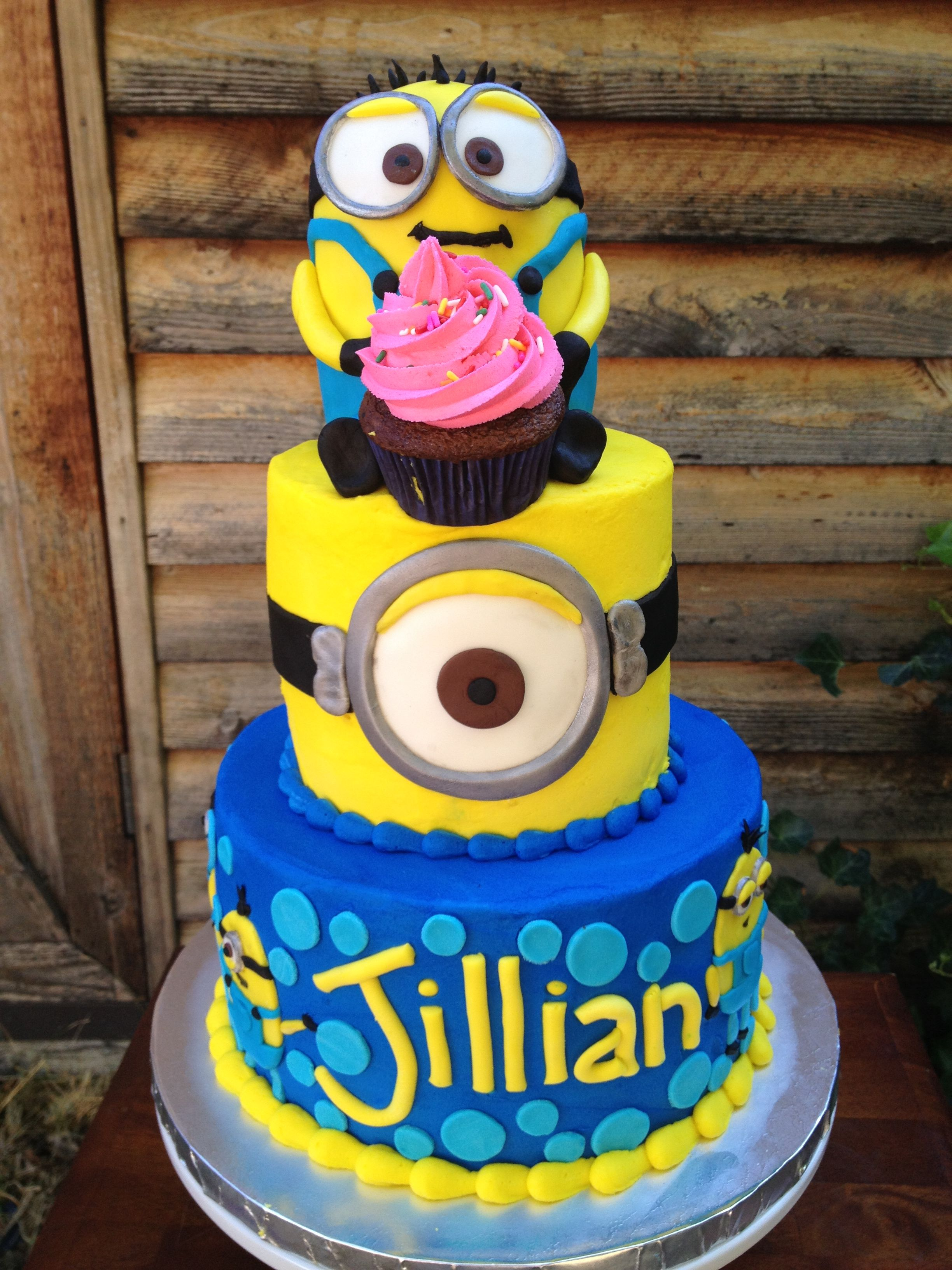 Minion Birthday Cake Minion Birthday Cake Willow