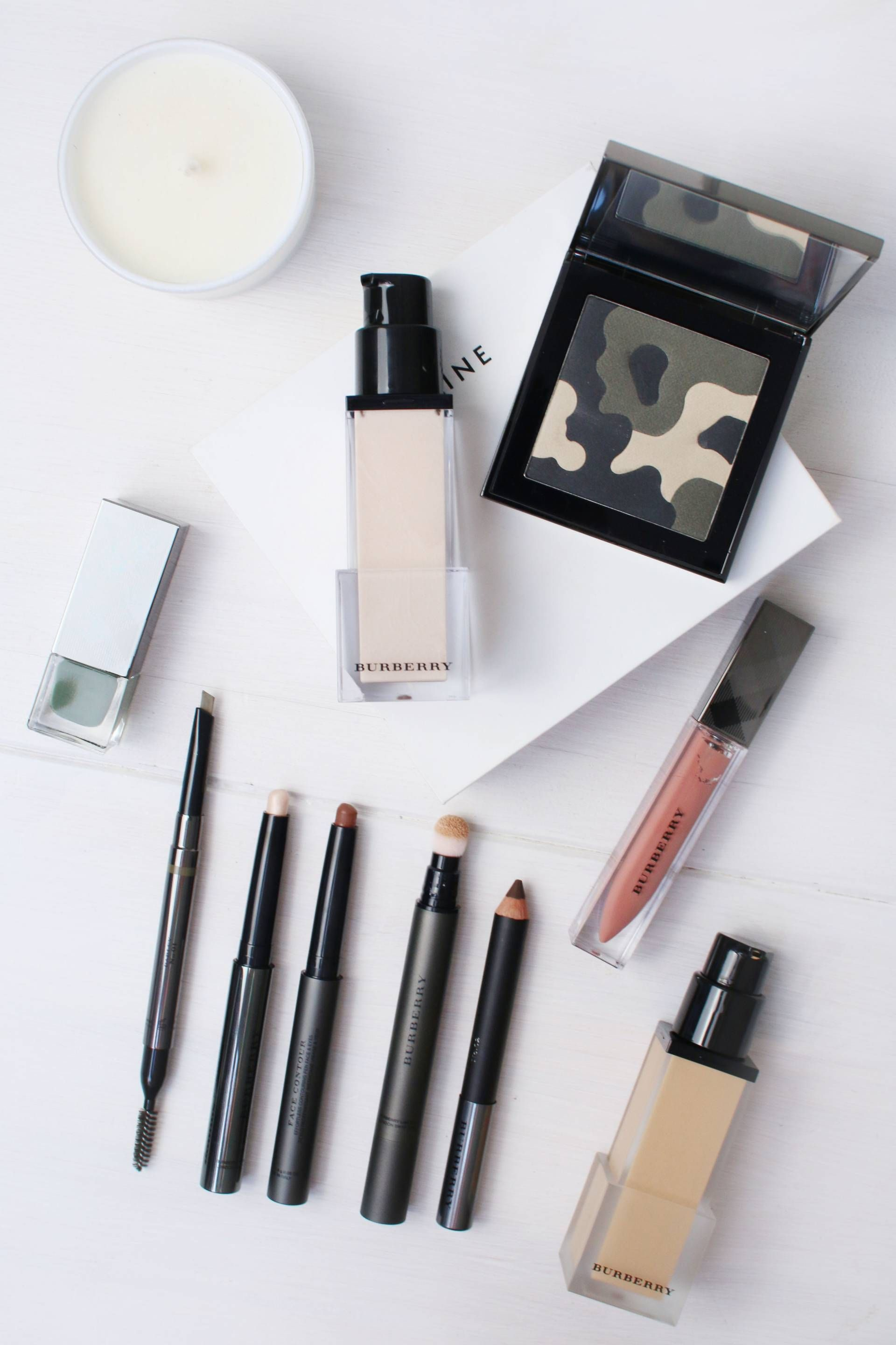 Burberry Beauty Contouring for Dummies and a Khaki Eye