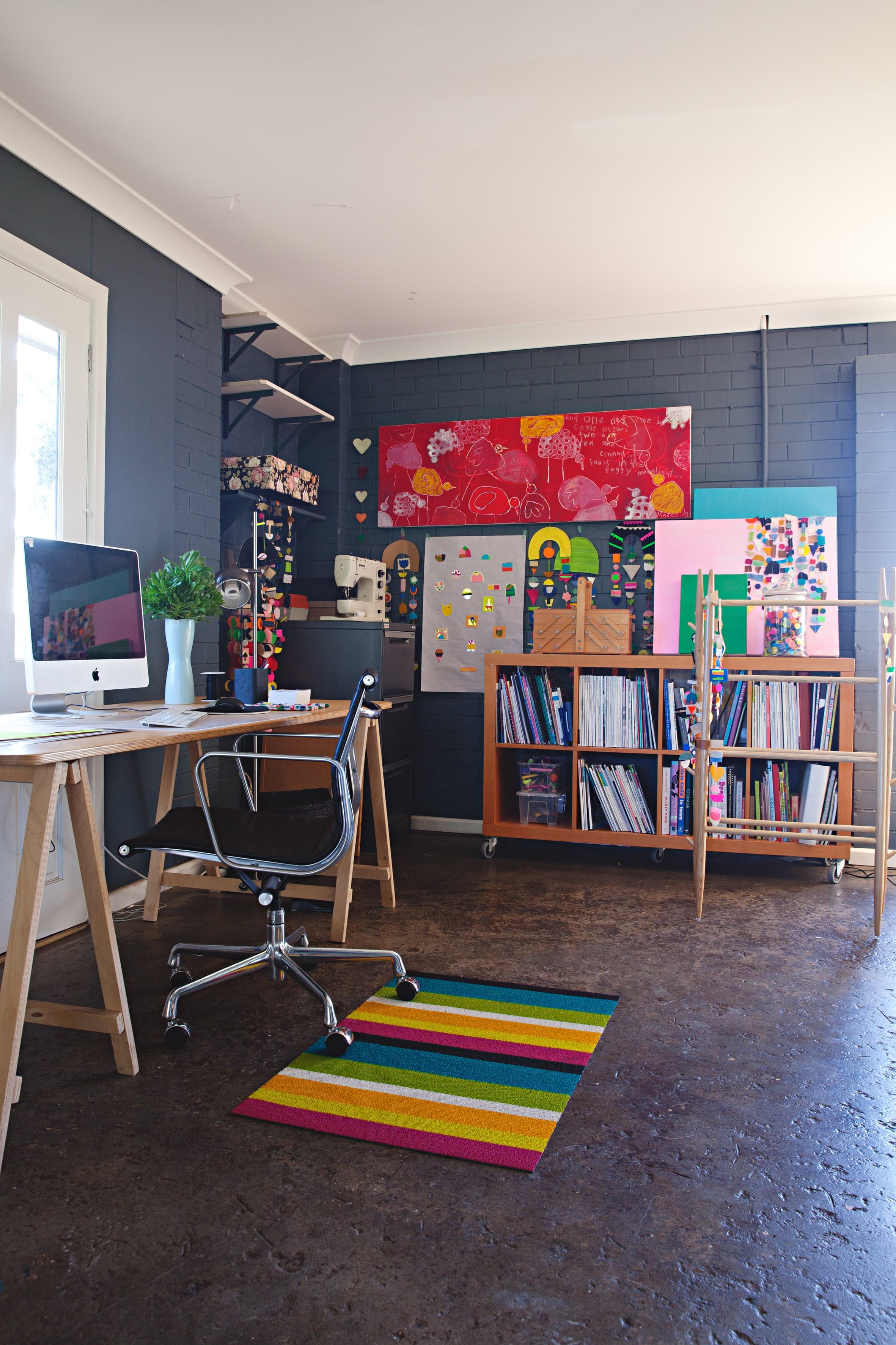 A Designer's Colorful, Crafty Australian Home (With