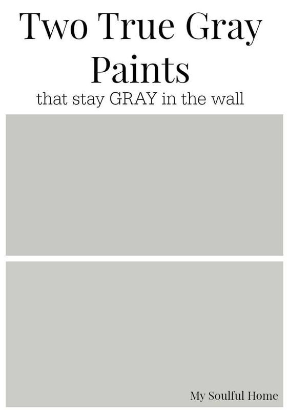 Two True Gray Paint Colors That You Can Count On To Stay The Wall And Advice How Read All Grays In Order Choose Perfect One For