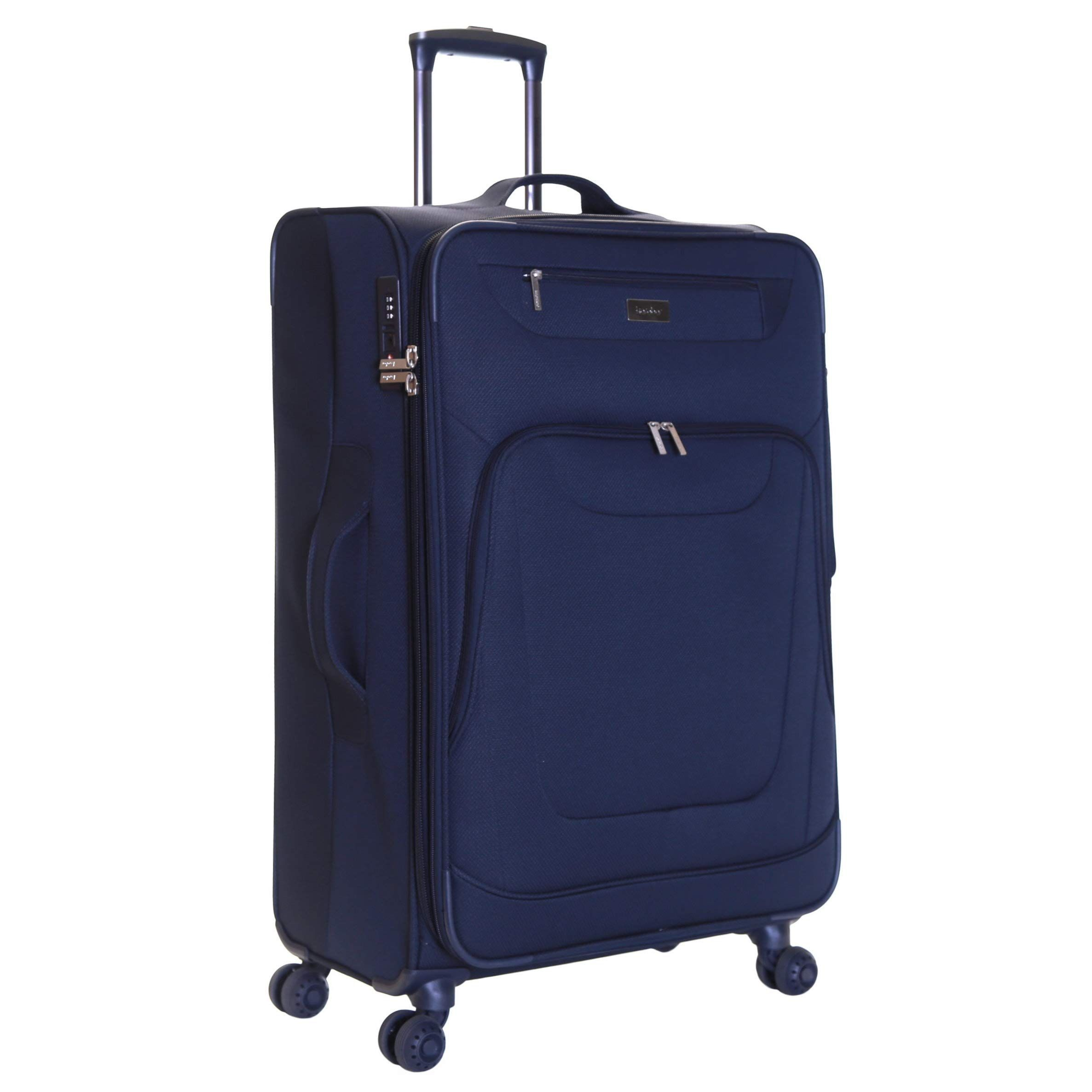 Trolley Case Luggage Suitcases Boarding fold Two Wheels Travel Bags Carry On Hand Luggage Durable Hold Tingting Color : Black, Size : S
