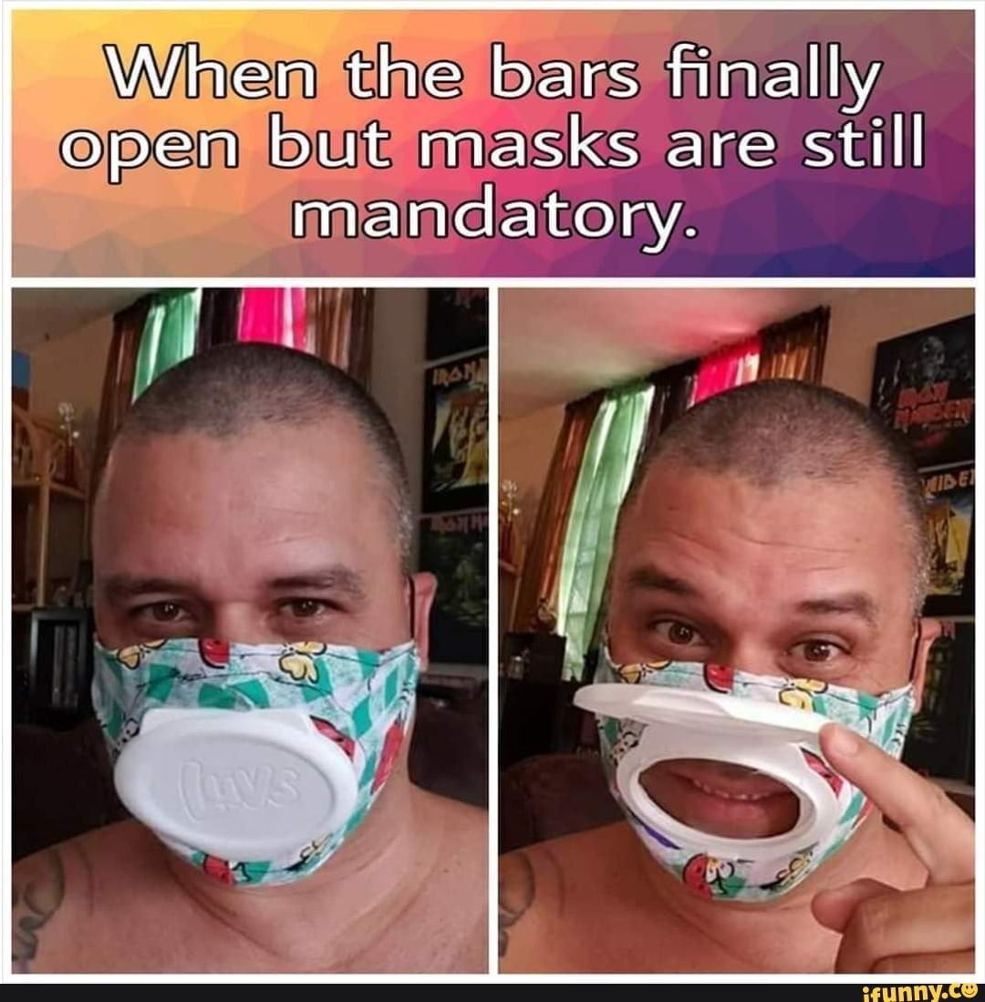 Finally but masks still - iFunny :)