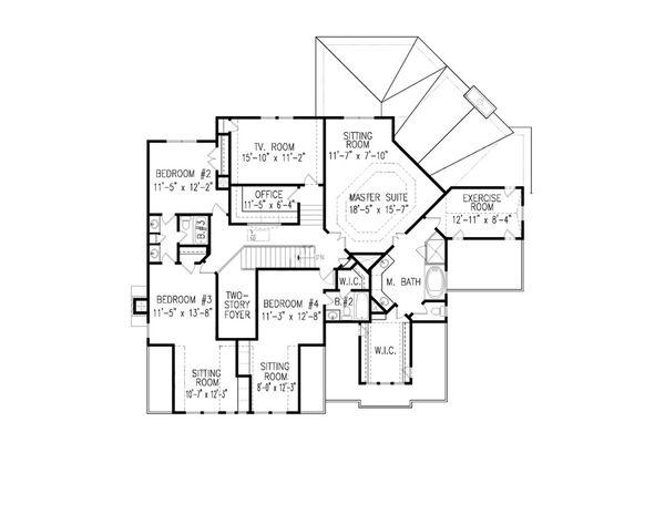Farmhouse Style House Plan 5 Beds 4 Baths 3905 Sq Ft Plan 54 407 Farmhouse Style House Plans Farmhouse Style House House Plans