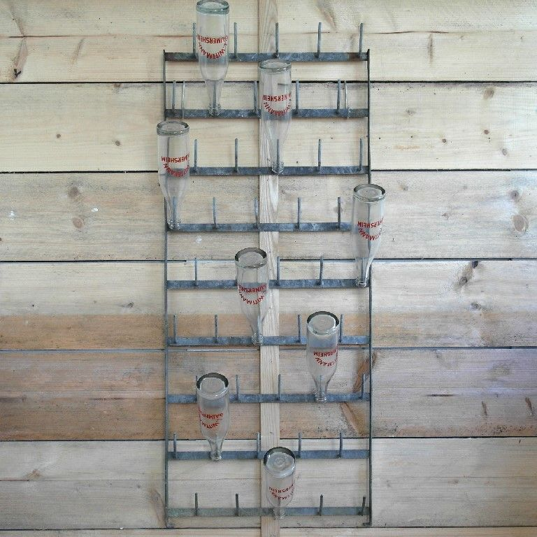 French Wall Hung Bottle Drying Rack 163 125 00 Favorite