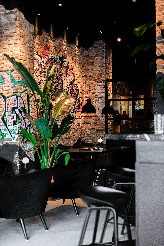 Blck By Horeca Sfeermakers Bistro Interior Design Restaurant Interior Design Industrial Restaurant Interior Design