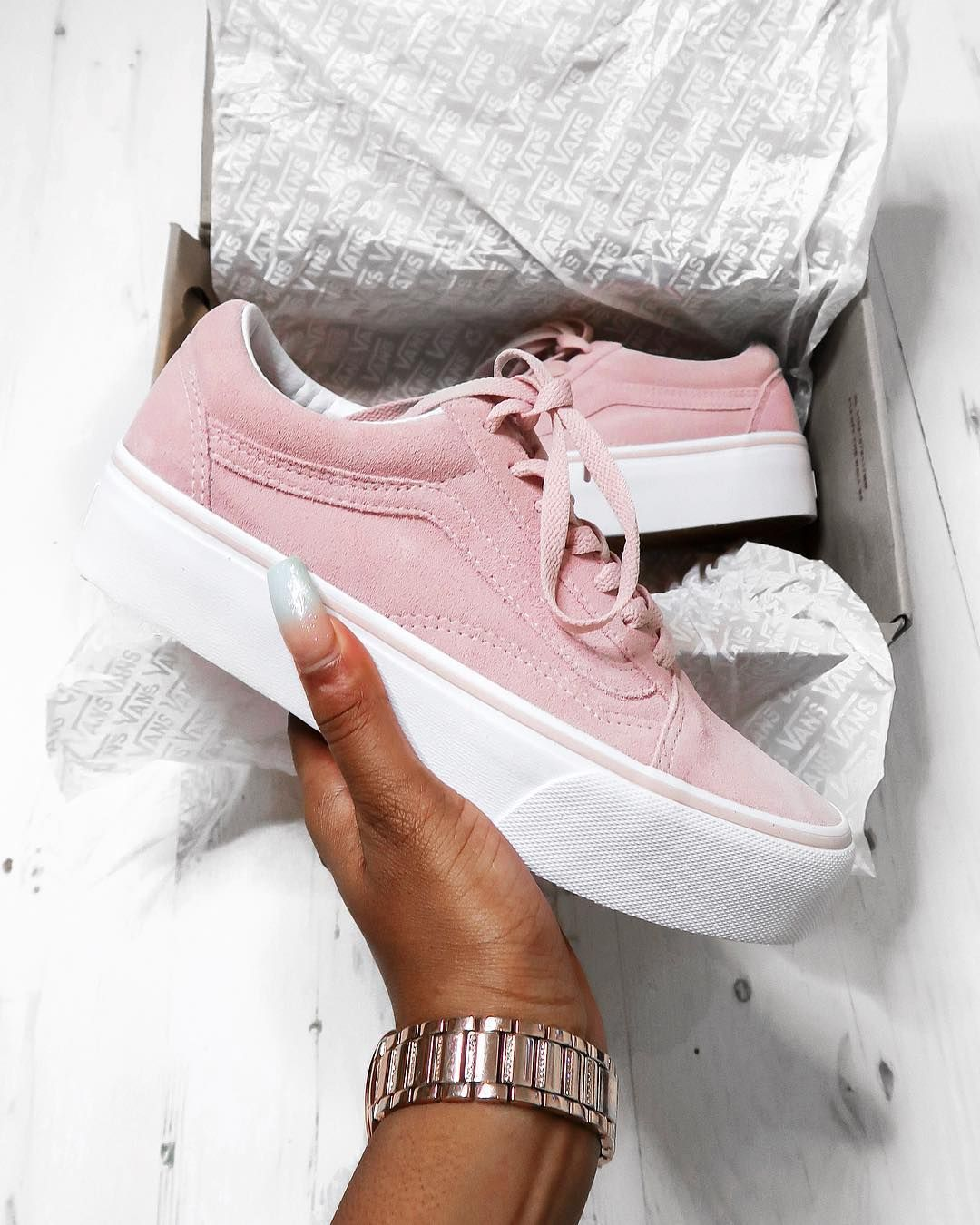 Platform vans, Sneakers