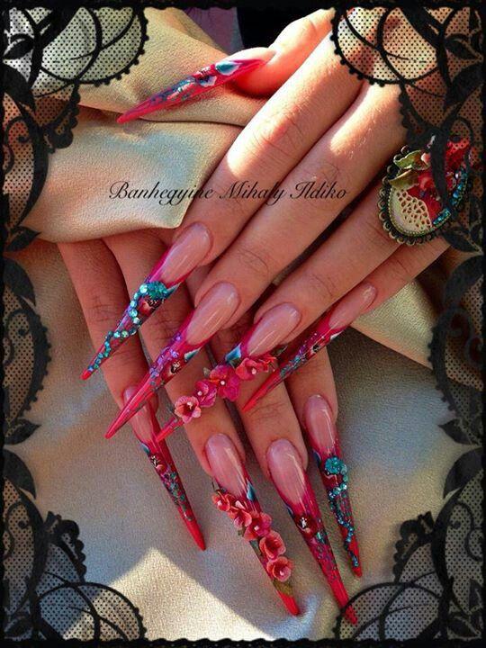 .Dragon Lady Nails!...