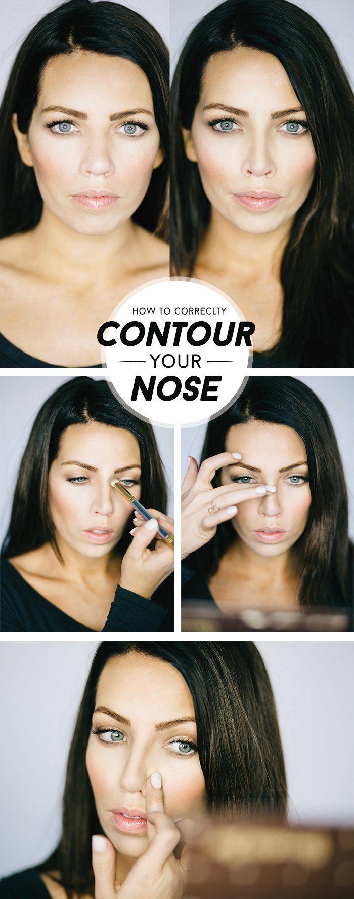 Tip Tuesday nose contouring (Maskcara) Contours