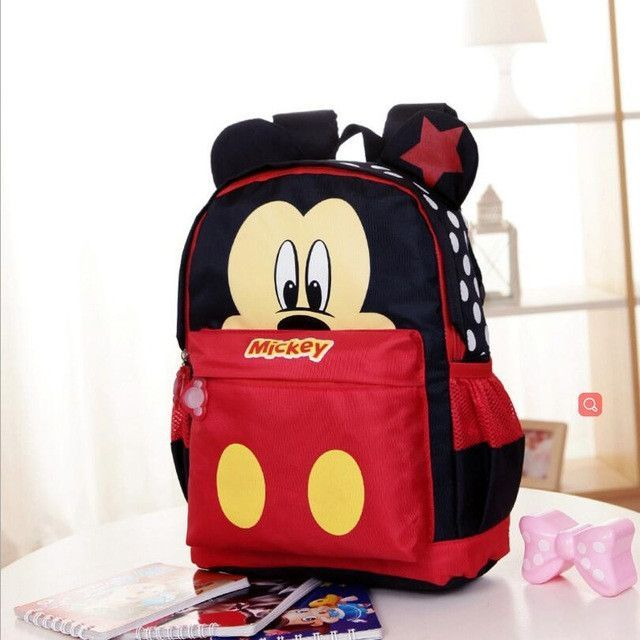 90b6db0a66 New Cartoon Mickey children backpacks Minnie kids kindergarten backpack  school bags Boys Girls Satchel Free Shipping