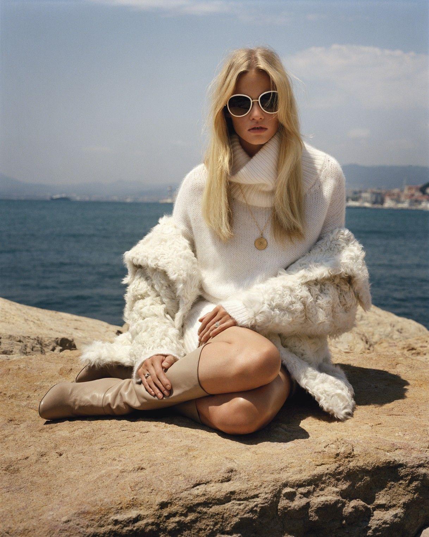 Lara Stone - October 2011 (white)