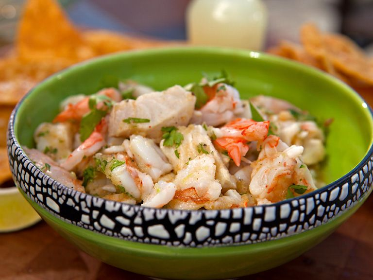 Shrimp and Mahi Mahi Citrus Ceviche | Recipe | Mahi mahi ...