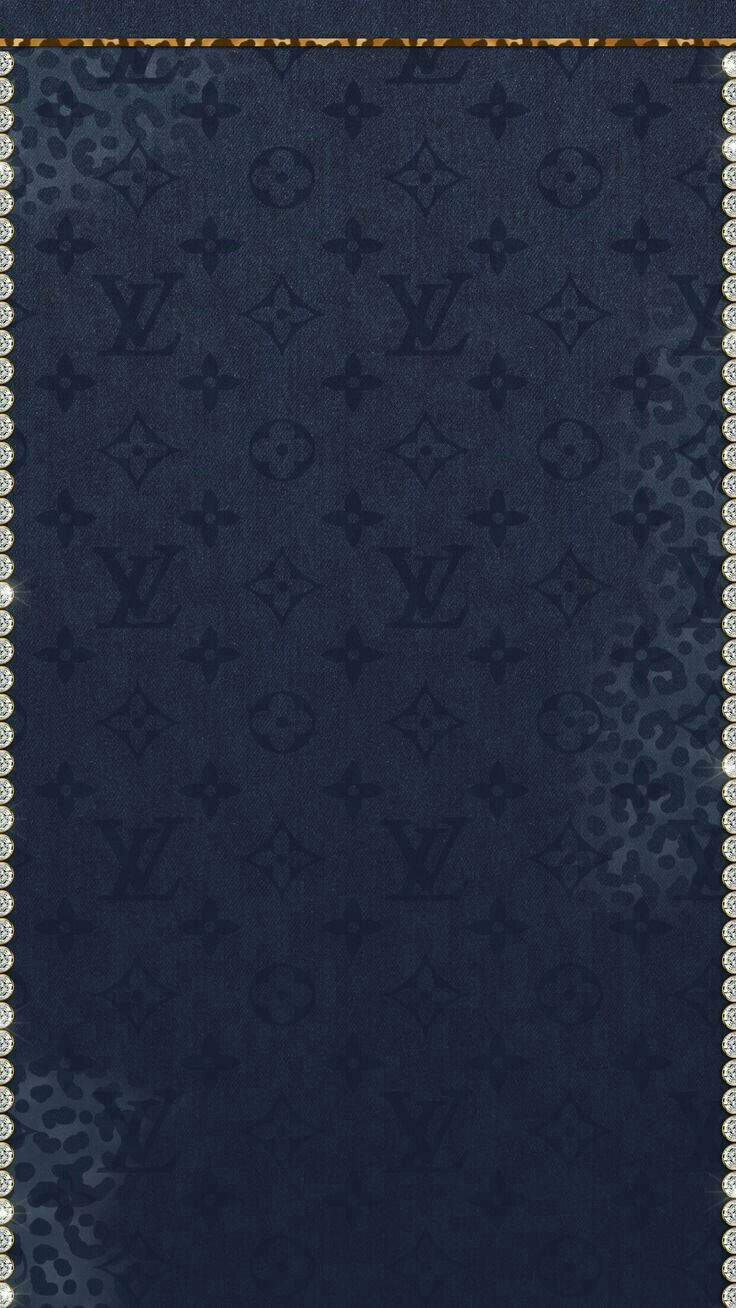 Wallpaper iphone louis vuitton - Lv Lv Black Wallpaper Phone Wallpapers Iphone 7 Walls Textures Paper