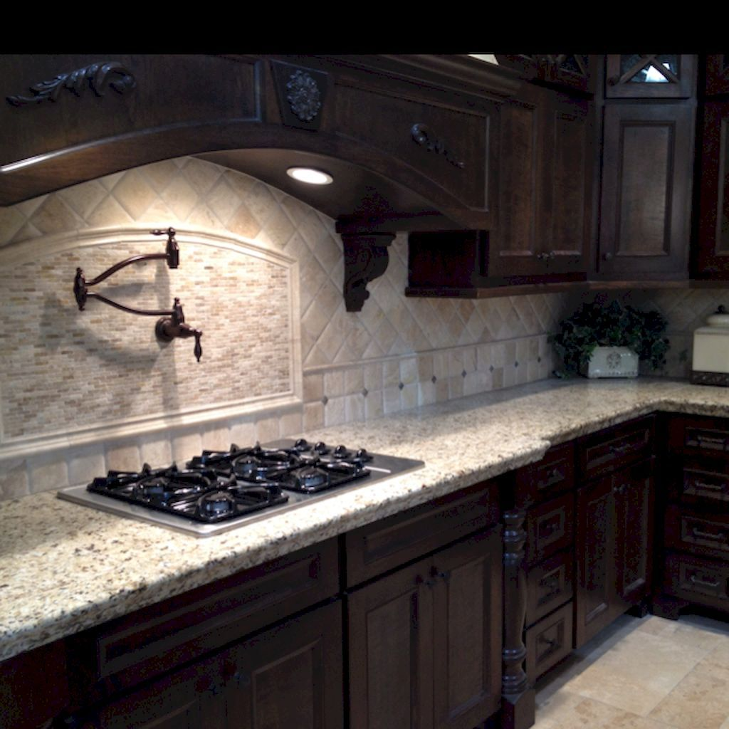 Adorable 75 Beautiful Kitchen Backsplash with Dark ... on Backsplash Ideas For Dark Cabinets And Dark Countertops  id=65446