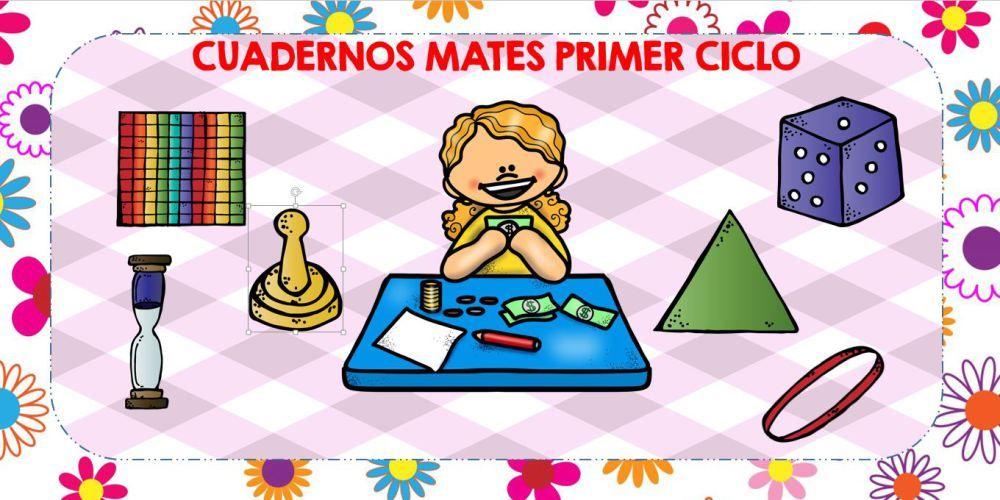 PORTADA CUADERNOS MATEMATICAS PRIMER CICLO