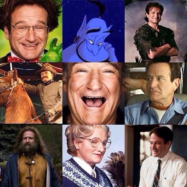 Remembering Robin Williams today...we will always treasure the joy and laughter that you brought to our lives! Rest In Peace.