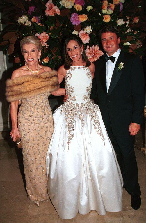 Melissa Rivers Wedding 1998 | dresses | Pinterest | Rivers, Wedding ...